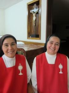 Mercedes Rico Calderón y Carmen Adriana del Sagrado Corazón, Monjas Adoratrices (Foto J. Lorenzo Guzmán J.)