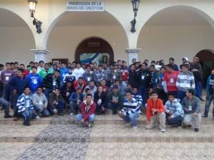 Participantes en el Pre-seminario 2013 de 3º de secundaria (Foto J. Alejandro Arias G.)