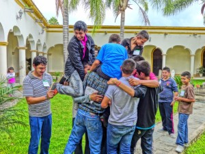Pre-seminario de 1º y 2º de secundaria en la 6a vicaría (Foto J. Alejandro Arias G (1)