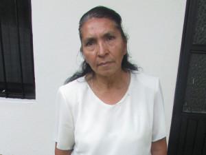 Magdalena de la Cruz González. Foto P. Luis Antonio Villalvazo