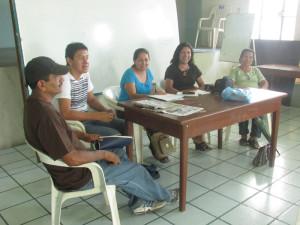 Representantes de las cooperativas. Foto. P Luis Antonio Villalvazo