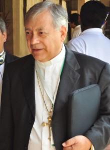 1. Sr. Obispo Braulio Rafael León Villegas