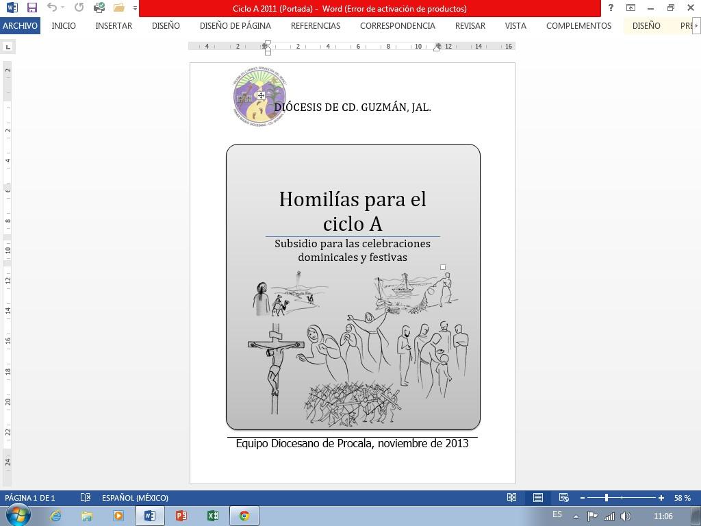 Portada Homilías 2011