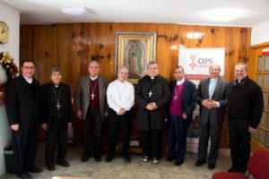 Obispos integrantes de la comisión episcopal de Pastoral Social (1)
