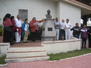 1. Don Serafín Vásquez estableció la misión en Pantelhó (Foto J. Lorenzo Guzmán J.)