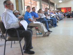 El obispo invitó a trabajar con jóvenes para que toquen la situación de los migrantes (Foto J. Lorenzo Guzmán J.)