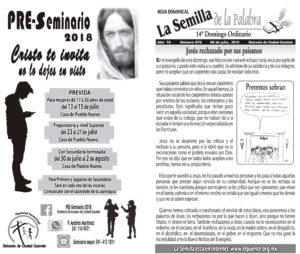 Semilla 876 8 de julio 2018