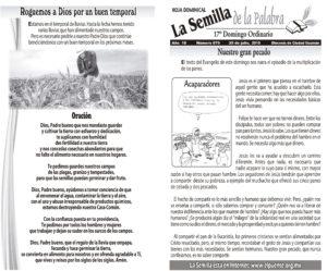 Semilla 879 29 de julio 2018