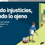 Callando injusticias, sirviendo lo ajeno – Dichos y hechos